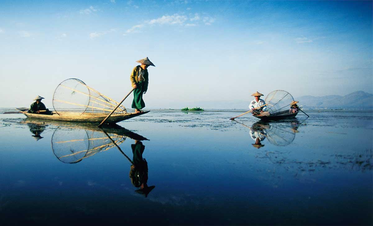 Risultati immagini per lago inle myanmar
